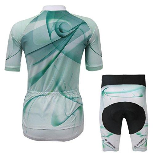 Women's Summer Hero Short Sleeve Cycling Jersey Shirts Pants Coolmax Pad Iron Spiderman Superman Captain America Batman