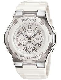 Women's BGA110-7B Baby-G Shock-Resistant White Sport Watch