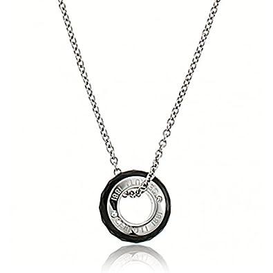 0bb55ffc65 Women's Necklace Black Ceramic Aurea Cerruti 1881: Amazon.co.uk: Jewellery
