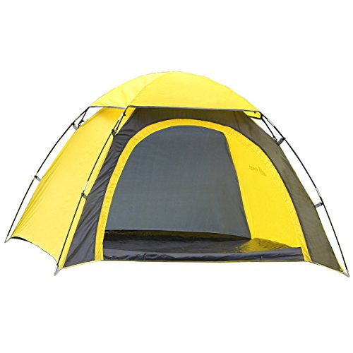 SEMOO Half-Moon Style Door, 2 Person Lightweight Camping/Traveling Family Dome Tent with Carry Bag