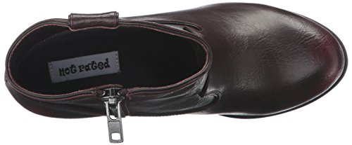 Rated Women's Geronimo Wine Ankle Not Bootie n0zY7Bwwx