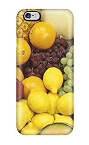 Iphone 6 Plus Fresh Fruit Bonanza Print High Quality Tpu Gel Frame Case Cover