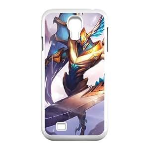 Samsung Galaxy S4 9500 Cell Phone Case White League of Legends Justicar Aatrox Rxzv