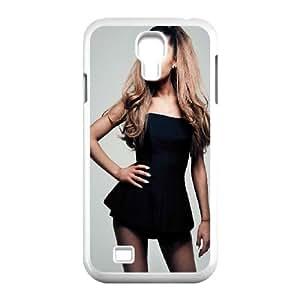 Ariana Grande Black Dress Samsung Galaxy S4 9500 Cell Phone Case White toy pxf005_5819504