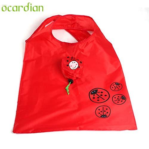 Sala-Tecco - Women Designer Handbag Tote Foldable Reusable Shopping Grocery Bags Beach Mesh Bag F803