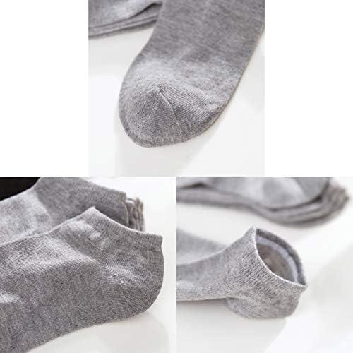 6 Pares Calcetines Deportivos Algod/ón Malla Transpirable Tobillo Hombres y Mujeres Calcetines Correr Calcetines DarkCom 5 Calcetines Caminar