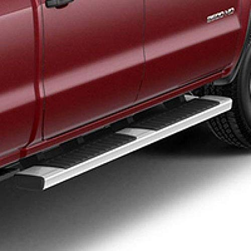 GM Accessories 84106507 Crew Cab 6-Inch Rectangular Assist Steps in Chrome