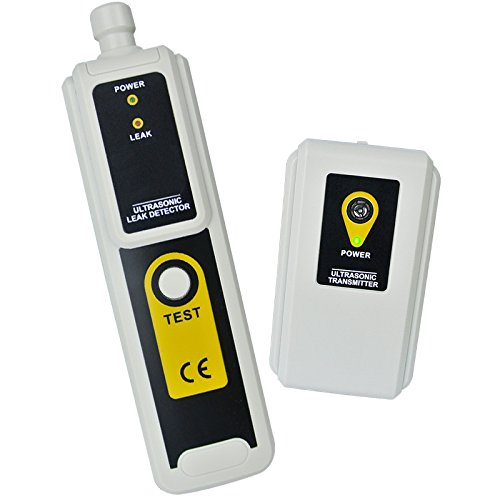 Ultrasonic Leak Warner and Transmitter Quick location of Air,Water,Dust leaks with Earphone