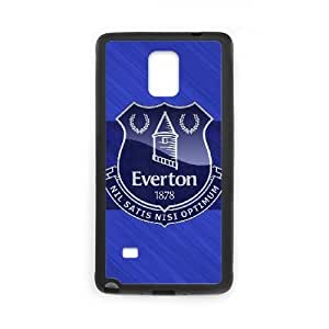 Printed Cover Protector Samsung Galaxy Note 4 N9108 Cell Phone Case Black Everton Aswzd Unique Design Cases