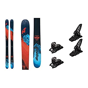 2021 Nordica Enforcer 100 Free 179cm Skis & 2020 Marker Griffon 13 ID Anthracite 100mm Brake Ski Bindings