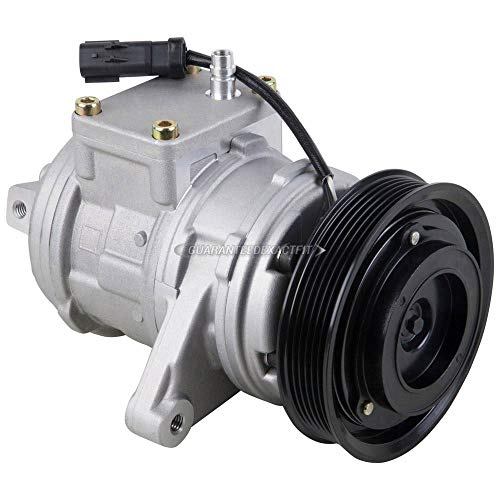 AC Compressor w// A//C Repair Kit For Jeep TJ /& Wrangler 2000-2006