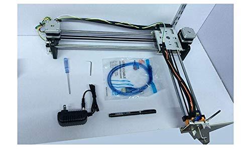 HEASEN DrawBot Metal Version Handwriting Machine Full kit Writing Robot Drawing Robot Working Area A4 Paper