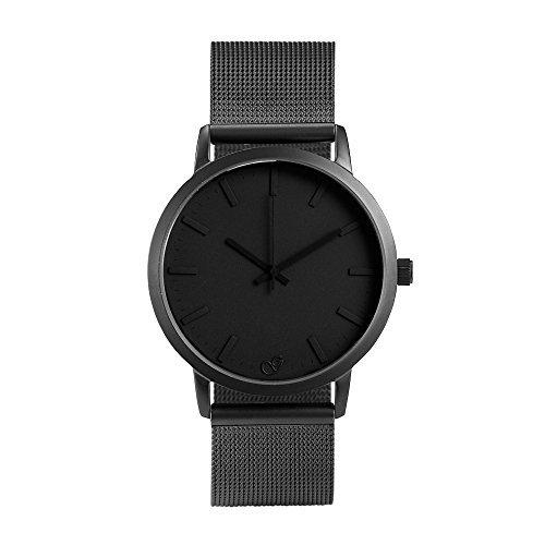 GAXS Jordan - Men's All Black Mesh Analog Quartz Watch by GAXS Watches