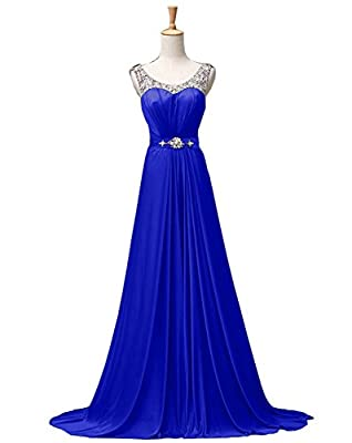 ThaliaDress Long Rhinestone Evening Formal Dresses Prom Gowns T034LF