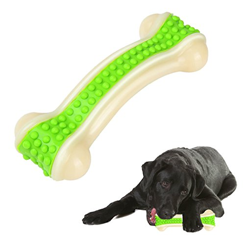 Bwogue Durable Dog Chew Toys,Guaranteed Tough Solid Bone Chew Toy For Puppy Dogs Training & Keeping Pet Fit For Sale