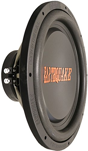 Earthquake Sound Tremor-X15D4 15-inch Dual Voice Coil Car Subwoofer, 1500 Watts ()