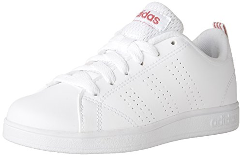 huge selection of 4ec63 89bf0 adidas Girls VS Advantage Clean Sneakers, Footwear WhiteFootwear WhiteSuper  Pink