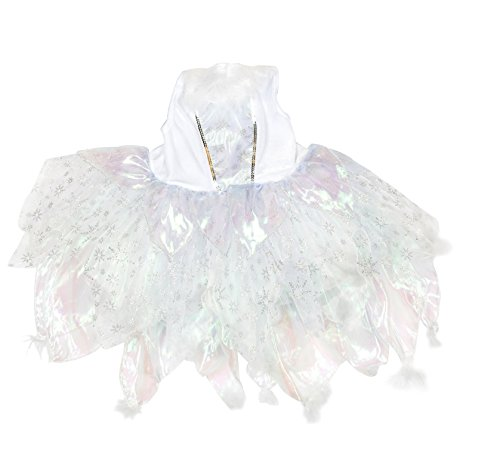 [Angel Fairy Fancy Halloween Party Dress Costume(6-8 Years)] (Little Girl Angel Costumes)