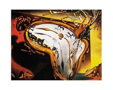 Dali reloj Relojes las suaves manecillas Póster De Impresión, Ohne Rahmen: Amazon.es: Hogar