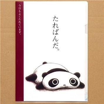 Carpeta de plástico A4 kawaii con oso panda Tarepanda: Amazon.es: Juguetes y juegos
