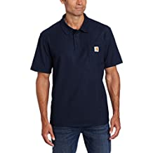 [Patrocinado] Carhartt Men 's Big & Tall Contratistas trabajo bolsillo Polo Original Fit K570