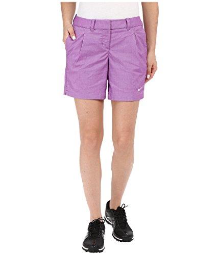 Nike Oxford Women's Golf Shorts Cosmic Purple/White (0 X 6)
