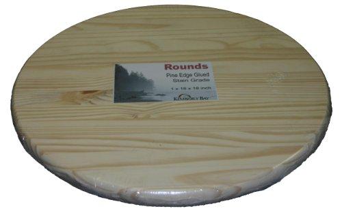 Edge Glued Pine Rounds 1x30x30