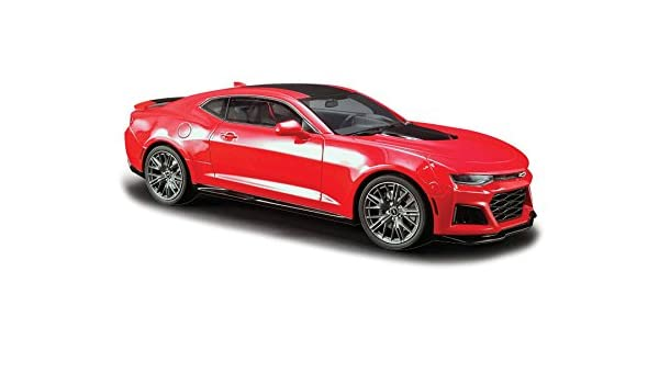 Amazon 2017 Chevrolet Camaro Zl1 Coupe Red With Black Stripe 1