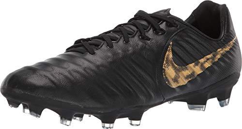 - Nike Legend 7 PRO FG Mens Soccer-Shoes AH7241-077_11 - Black/MTLC Vivid Gold