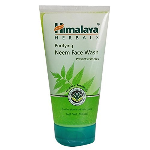 Himalaya Herbals Purifying Neem Face Wash   100ml  Pack of 2