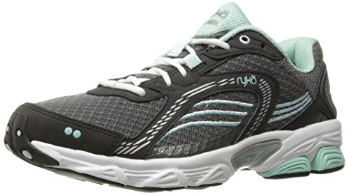 Ryka Womens Ultimate Running Shoe Grey / Black