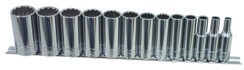 K-Tool International KTI-22401 Deep Fractional Socket Set - 13 -