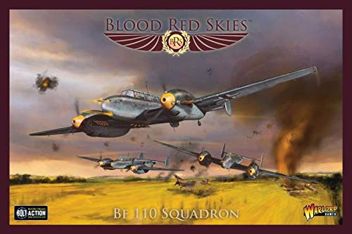 - Blood Red Skies Warlord Games, Bf 110 Squadron - Air Combat Game Miniatures