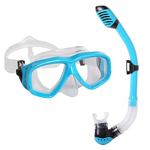 Snorkel Mask Set Snorkeling Swimming