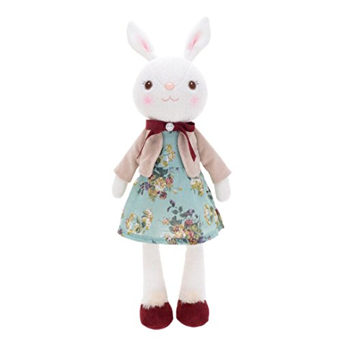 Easter Gift Bunny Plush Toys, Coerni Bunny Collection Stuffed Animal Toy (Bear Plush Pull)