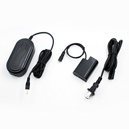 PowEver DMW-DCC12 Plus DMW-AC8 Power Adapter AC Camera Charger kit for PANASONIC DMC-GH3 DMC-GH4 DMC-GH3K DMC-GH4K DC-GH5 digital Camera by PowEver
