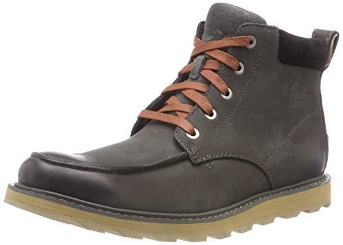 Men's Boots SOREL Madson Grill Waterproof Black Moc Toe 4wZOqS
