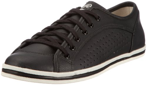 Buffalo 507-9987 TUMBLE PU 126246 Damen Fashion Sneakers Schwarz (BLACK692)
