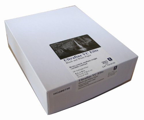 Ultrafine VC Elite光沢変数コントラストRC用紙8 x 10 / 250シート   B00HX3J72Y