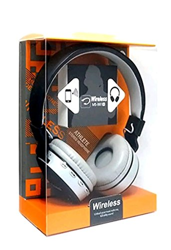 EASY4BUY MS 881 Dolby Sound Bluetooth Headphone Handfree with FM and Micro SD Card Slot