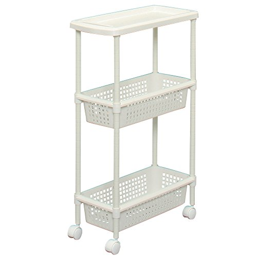 Laundry Cart / Kitchen Cart for Narrow Space MKW-3S