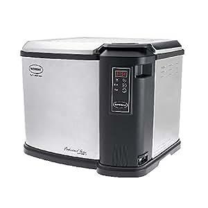 Butterball XXL Digital 22 lb. Indoor Electric Turkey Fryer, Steel and Black
