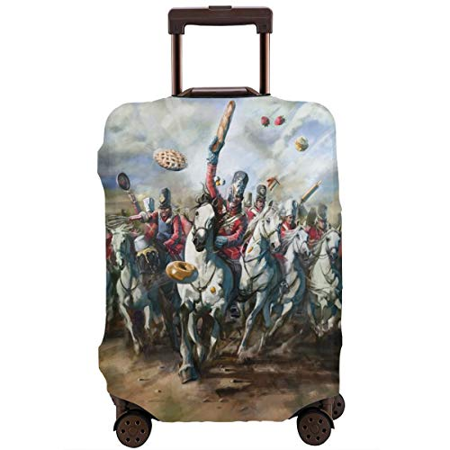 Great British Bake Off Travel Luggage Cover Suitcase Protector Washable Baggage Luggage Covers Zipper Fits 26-28 Inch