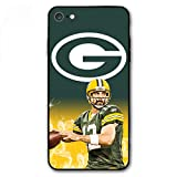 ZICEN iPhone 6 Case iPhone 6s Case - American Football Design Ultra-Thin Cover Cases for iPhone 6/6s 4.7' (Rodgers-Packers)