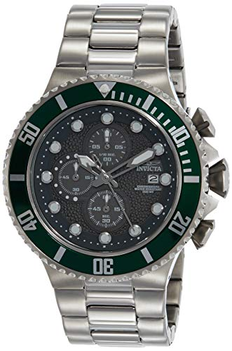 Invicta Men's 18908 Pro Diver Analog Display Quartz Silver Watch ()