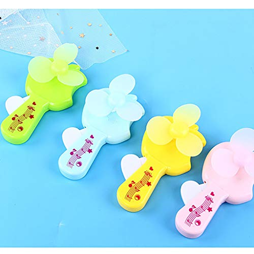 Maikouhai Mini Cooling Interesting Palm Pressure Mini Fan Candy Colors Cute Toys - Plastic Material