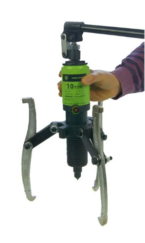 Merry Tools HK 10T Integral-Unit Hydraulic 3 Jaw Gear Puller Kit Jaw Puller Seperator 450571 by Merry Tools HK