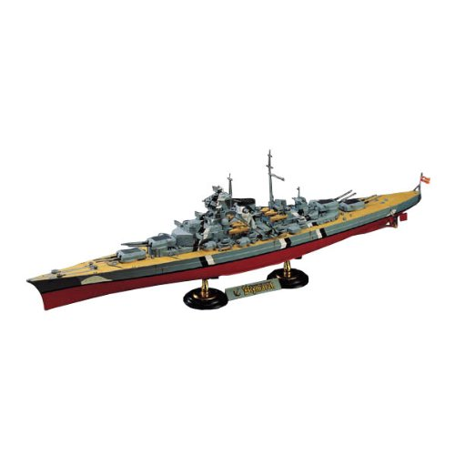 (Academy German Battleship Bismarck Model Kit)