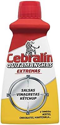 Cebralín Quitamanchas Extremas Salsas - Pack de 6 Envases de 70 ml ...