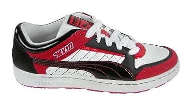 Puma Sky 3 blanco/rojo/negro - Talla: 41